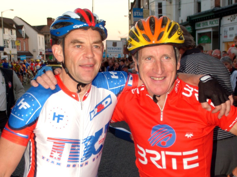 Past masters  on the start of the 2003 Newport Nocturne