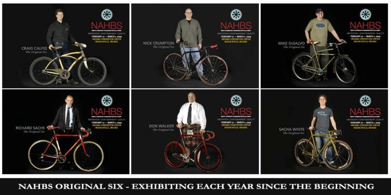 NAHBS is honouring its 'Original Six' framebuilders