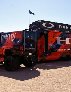 As always, Oakley prefers the subtle approach.