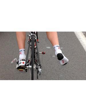 One-legged pedalling can strengthen your hip flexors