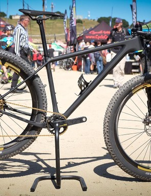 Four years after releasing its first mountain bike, Open has redesigned its hardtail. The One+ can fit 29x2.4in or 27.5x3.25in treads