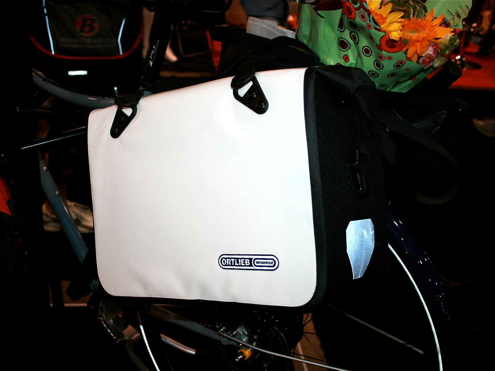 German maker Ortlieb knows how to keep your laptop and other ofice goodies safe and dry.