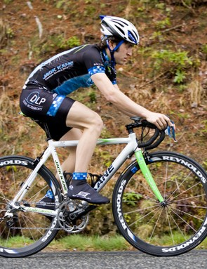 DLP Racing team member Owen Nielsen put the Quarq and iBike Aero combination to the test at the Commerce Bank Triple Crown.