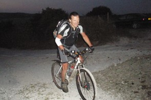 Neil rides into the dawn at Cocking