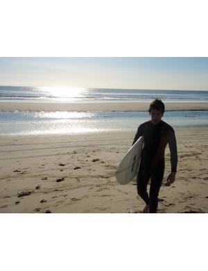 Surf's up at Huntingdon beach