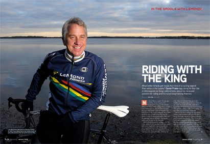 Greg LeMond is happy with his life again