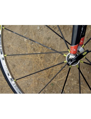 Mavic R-Sys wheels are light and fast