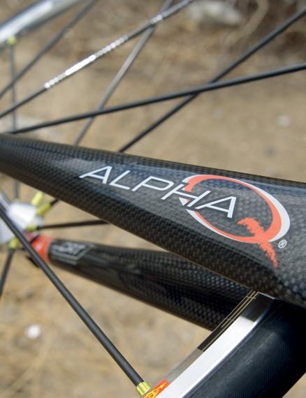 Alpha-Q fork aids confident handling