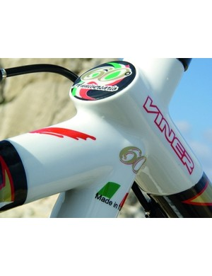 Green, white and red: an Italian flag denotes Viner's pride in their heritage