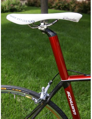 The Series 9 will also include an integrated seat mast;the Series 8 will use a conventional post.