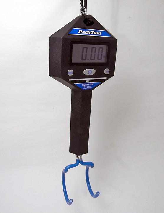 Park Tool gets into the weighing game with its new DS-1 digital scale.