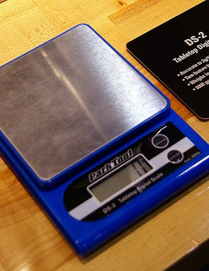 Find out part weights with the new tabletop digital scales