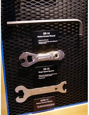 Fixie riders can carry the new SS-15 with its open/box-end 15mm wrenches, bottle opener and tyre lever