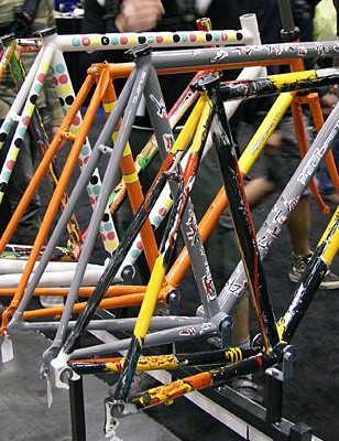 Despite having cancer, Dario Pegoretti has been busy building frames.
