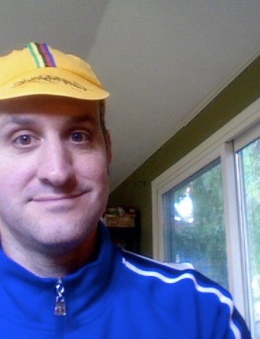 Some dork in an old Campy cap.
