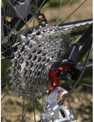The SRAM PG-990 11-34T cassette provided the wide-range gearing we were looking for
