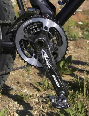 Don't be fooled by the FSA K-Force Light's carbon construction; it handled rock hits and scrapes with aplomb while also delivering excellent rigidity and shifting performance