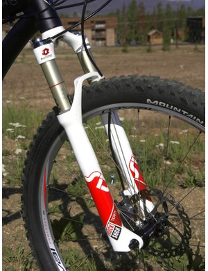 RockShox's superb new SID handled the suspension duties up front
