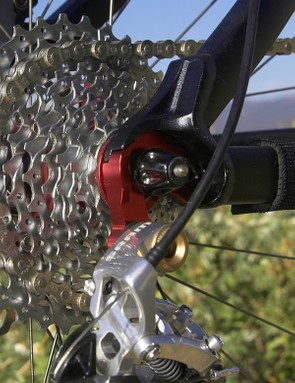 Even the replaceable derailleur hanger is far burlier-looking than we're used to seeing