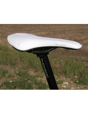 fi'zi:k's new Tundra Carbon saddle is certainly light but make sure its shape suits you as the shell is unyieldingly rigid and it doesn't break in much