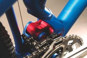 The dw-link on a Pivot bike