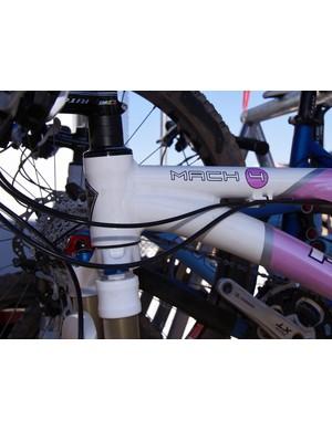 Ultra-short head tubes accommodate shorter riders.