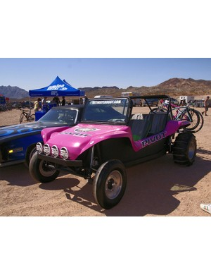 This dune buggy isn't exactly a bad way to get around…