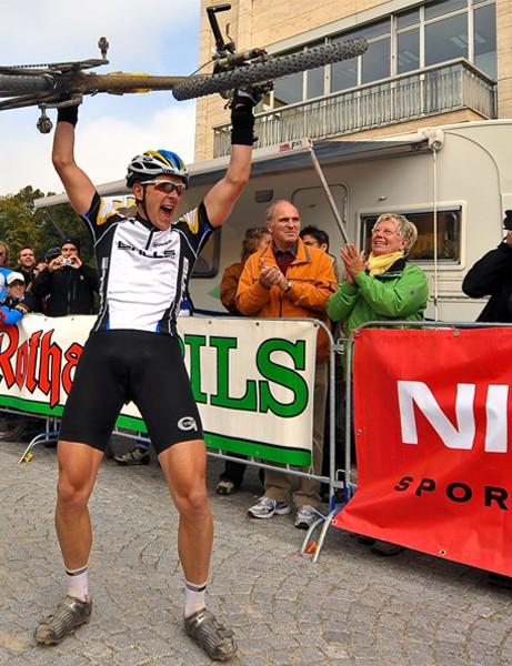 Platt rejoices after his success