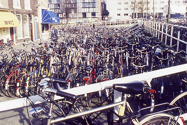 There's plenty of opportunity for bike theft in Holland