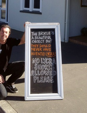 The sign outside the Plough Hotel, Rangiora