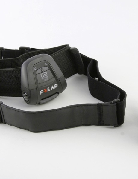 The new WearLink heart rate monitor strap is heaps more comfortable than others we've tried.