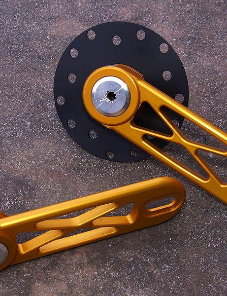 The Powercranks xLite Adjustable cranksare big, heavy and expensive… yet still might be one of the best training tools for enhancing your pedal stroke.