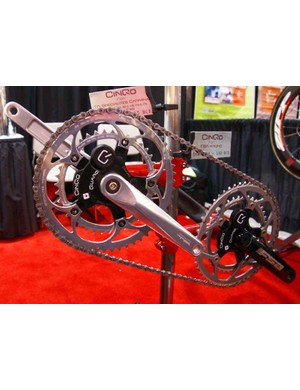 Quarq has expanded the range of cranksets compatible with its innovative Cinqo power meter for 2009.