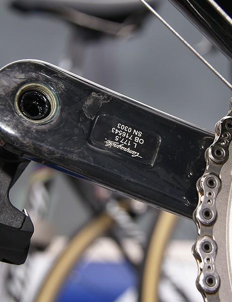 Boonen ran long 177.5mm crankarms.