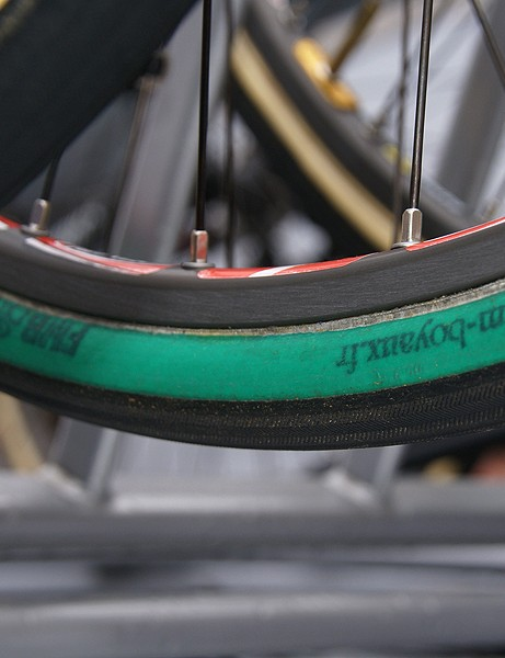 Think Dugast tires are rare? Try finding a set of these!