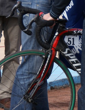 The new fork also includes vibration-absorbing Zertz inserts…