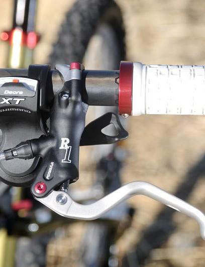 New Formula R1 brakes