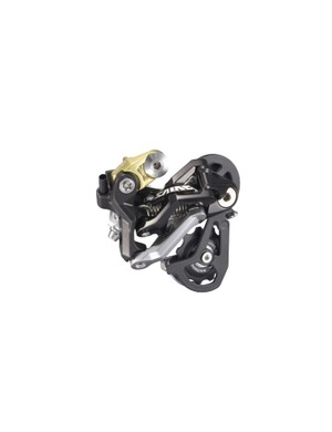 The new rear derailleur is no longer axle-mounted but should still be plenty durable thanks to its stout construction and steel mounting bolt.