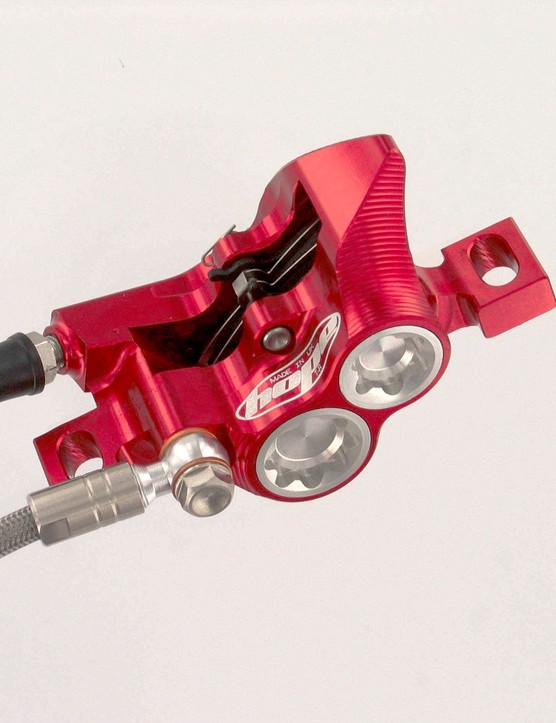 Hope's special edition Mono M4 brake