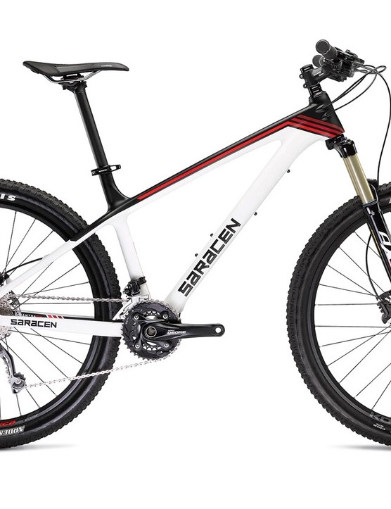 Saracen's Mantra Trail Carbon will be available to order at the show