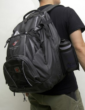 The ample interior volume holds heaps of gear yet still manages to comfortably fit on your back.