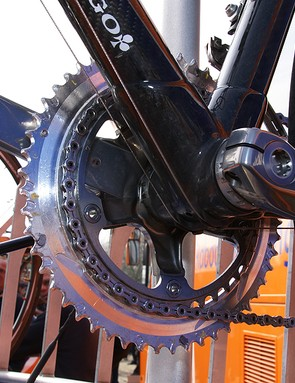 …although it looks like Shimano engineers are primarily just working on new shift ramp patterns.