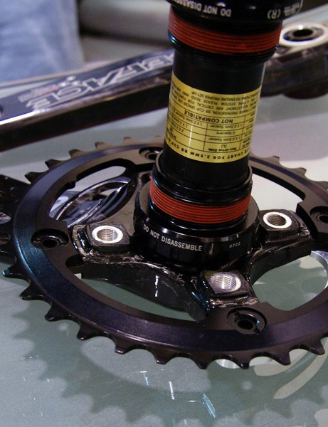 The Next SS boasts a narrower profile and users can add in spacers for the inner ring if desired.