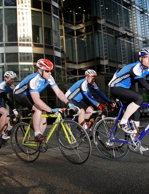 London's first ever corporate cycling challenge launched