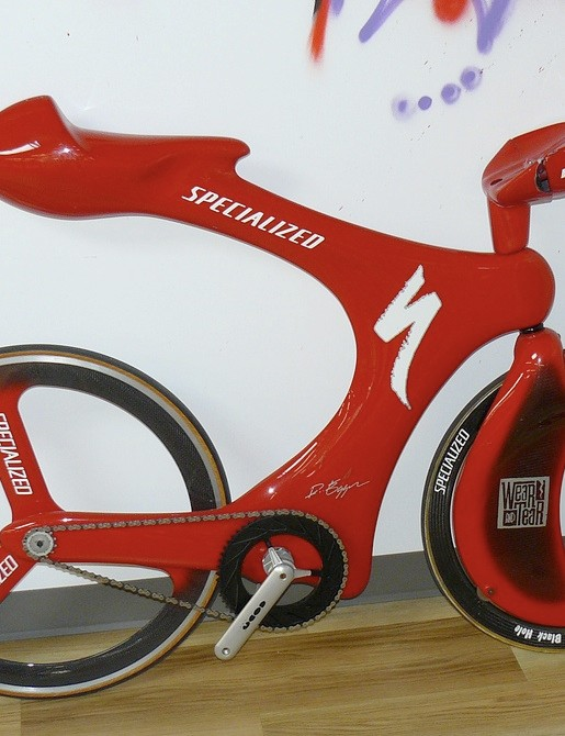 Specialized time trial concept time trial machine from years ago.