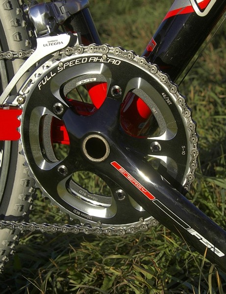 The hollow-forged aluminium Energy crankset is an underappreciated player in the FSA lineup with its competitive weight, stiff construction and very reasonable cost