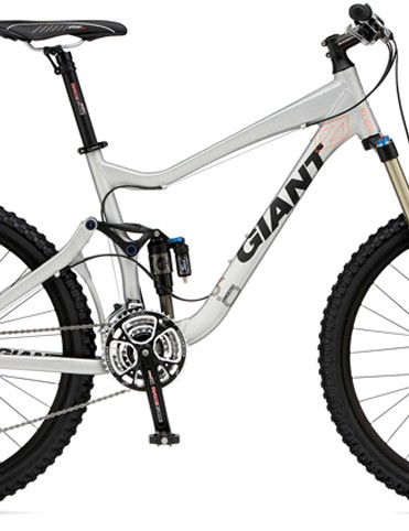 Giant revised its popular Reign all-mountain platform with slacker head tube angles and 15mm thru-axle front ends
