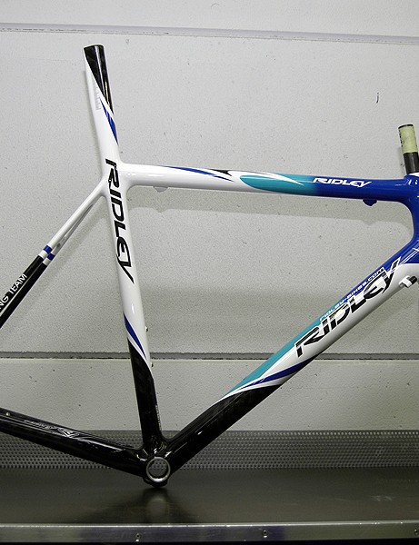 Fidea riders also get new paint schemes for next season, and may be on SRAM too