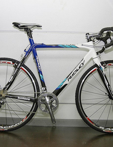 Fidea 'cross star Bart Wellens will continue to use the new Ridley X-Night model