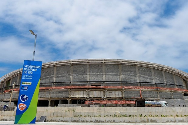 The Rio Velodrome in December 2015 – will it be ready in time?